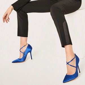 Zara Satin Heels | NWT